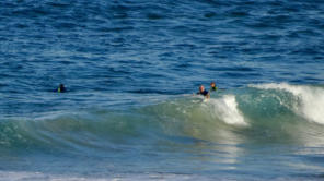 Surfing at Catherine Hill Bay Lake Macquarie