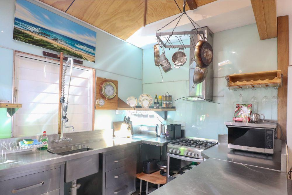 Fully equipped kitchen at Treasure Island