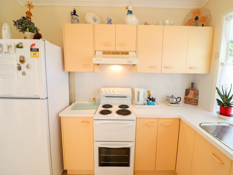 Spacious kitchen at Bromyard Cottage at Swansea