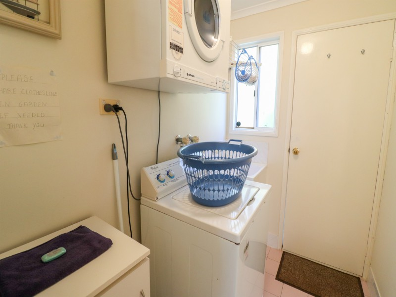 Fully equipped laundry at Bromyard Cottage at Swansea